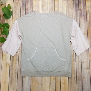 Soft Surroundings Grey Blush Sweater Size S